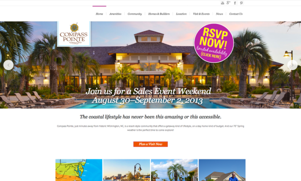 New Website Compass Pointe Home